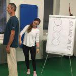 Fyzioterapeuticko-jógový workshop manželů Strakových